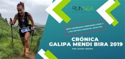 Crónica de la Galipa Mendi Bira 2019: ¡Reto superado corriendo 22km y 1.250 metros desnivel positivo!