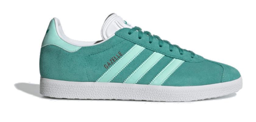 Sneakers color menta, Adidas Gazelle