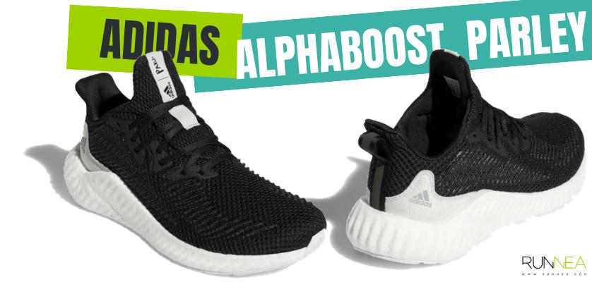 Las zapatillas de running más destacadas de la colección Parley de adidas - Alphaboost Parley