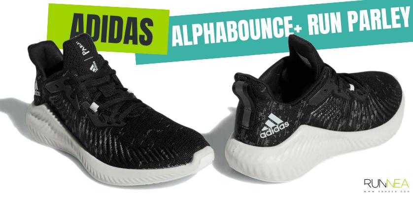 Las zapatillas de running más destacadas de la colección Parley de adidas - Alphabounce+ Run Parley