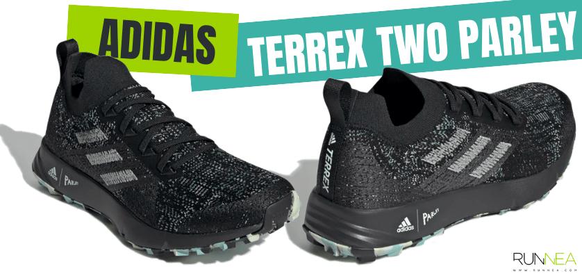 Las zapatillas de running más destacadas de la colección Parley de adidas - Terrex Two Parley