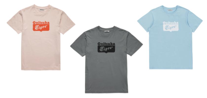 Camisetas de la colección primavera-verano 2019 de Onitsuka Tiger