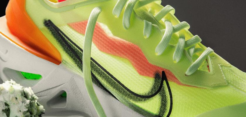 Nike ZoomX Vista Grind, upper translúcido