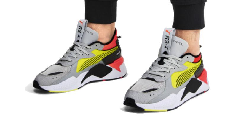 Las Puma RS-X Hard Drive soon unas zapatillas combinables