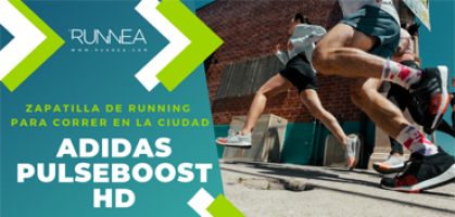 Adidas Pulse Boost HD, zapatilla de running ideal para correr por la ciudad