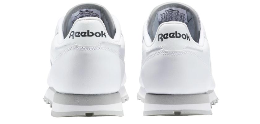 Cómo saber si tus Reebok Classic Leather son originales o falsas, talón