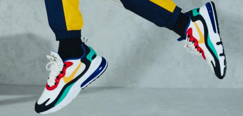 Nike Air Max 270 React, reactividad