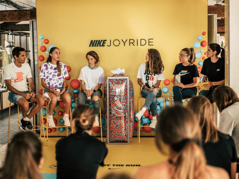 Runnea participa en el evento de Nike Joyride en Box Barcelona, charla recuperación