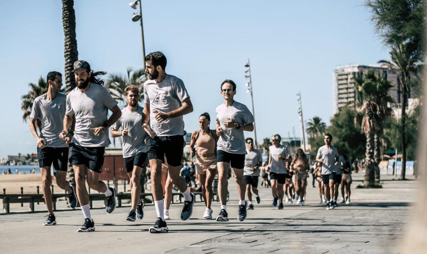 Runnea participa en el evento de Nike Joyride en Box Barcelona, correr más fácil