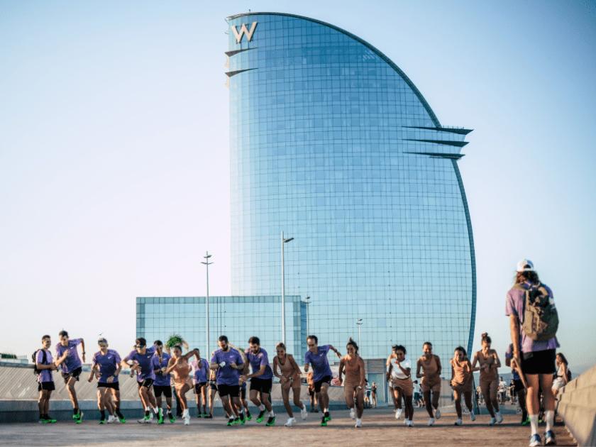 Runnea participa en el evento de Nike Joyride en Box Barcelona, Running Experience