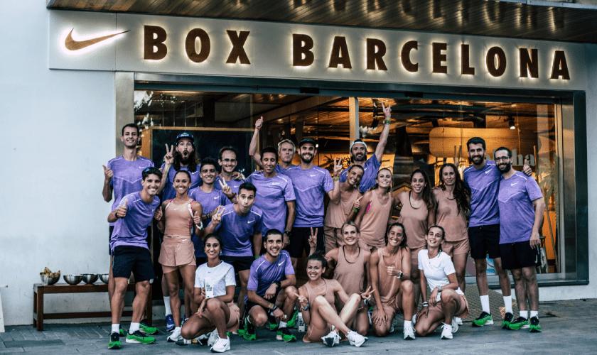 Runnea participa en el evento de Nike Joyride en Box Barcelona