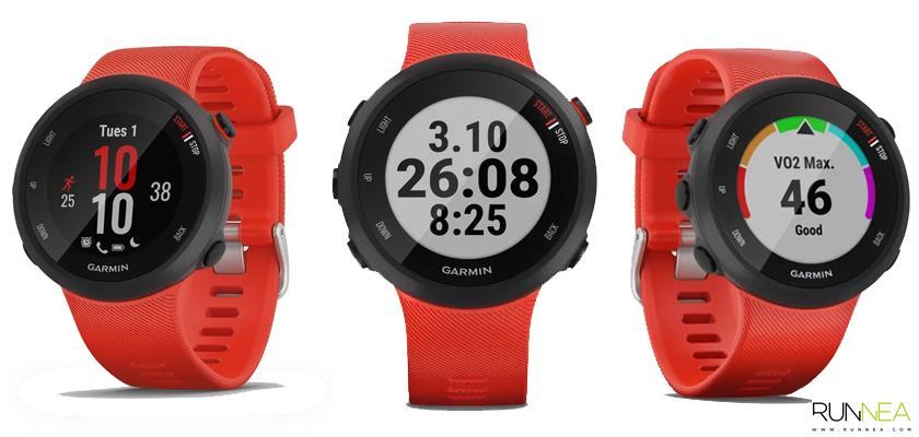 Garmin Forerunner 45, funciones de entrenamiento - foto 1