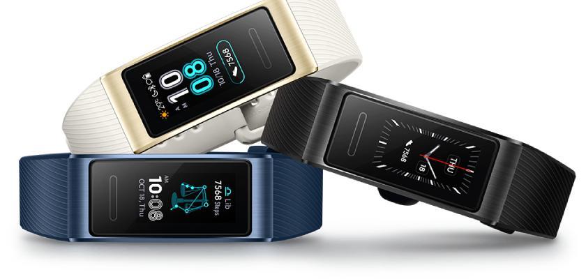 Huawei Band 3 Pro los tienes en tres colores