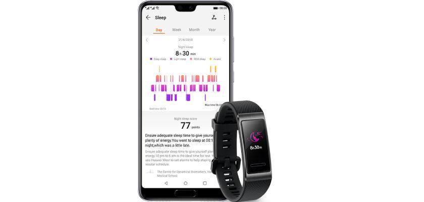 Huawei Band 3 Pro controla tu frecuencia cardíaca y el sueño