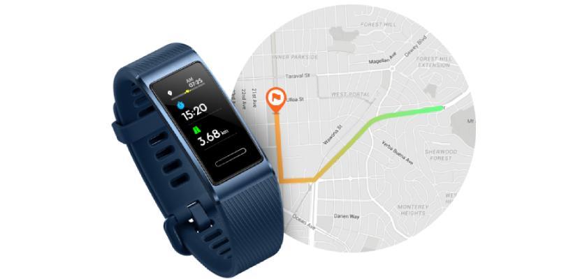 Huawei Band 3 Pro cuenta con GPS