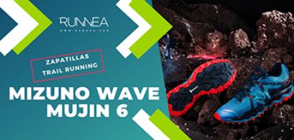 Mizuno Wave Mujin 6, tu opción más indicada si buscas una zapatilla de trail running para largas distancias