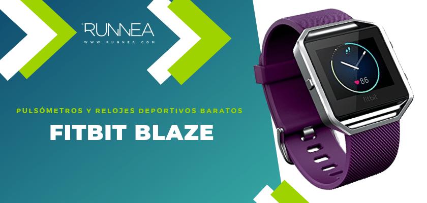 Pulsómetros y relojes deportivos por menos de 150€ - Fitbit Blaze