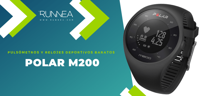 Pulsómetros y relojes deportivos por menos de 150€ - Polar M200