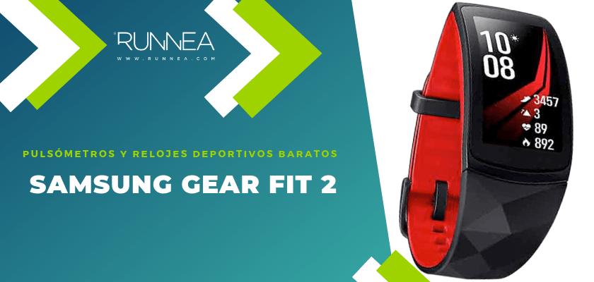 Pulsómetros y relojes deportivos por menos de 150€ - Samsung Gear Fit 2 Pro