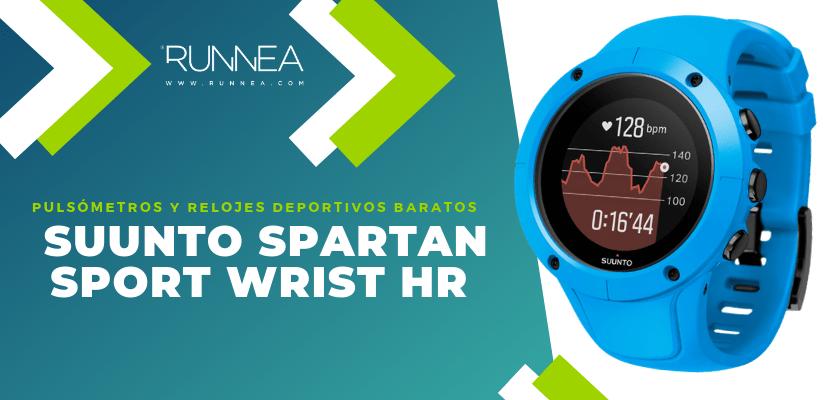 Pulsómetros y relojes deportivos por menos de 150€ - Suunto Spartan Sport Trainer Wrist HR