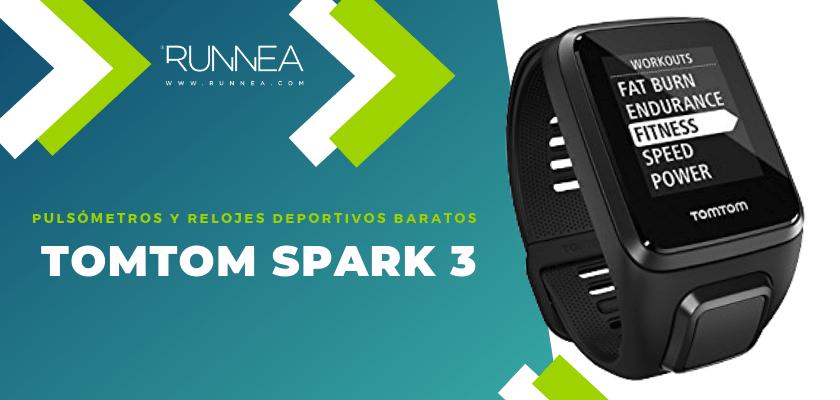 Pulsómetros y relojes deportivos por menos de 150€ - TomTom Spark 3