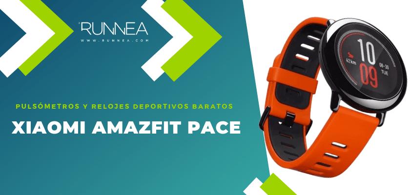 Pulsómetros y relojes deportivos por menos de 150€ - Xiaomi AmazFit Pace