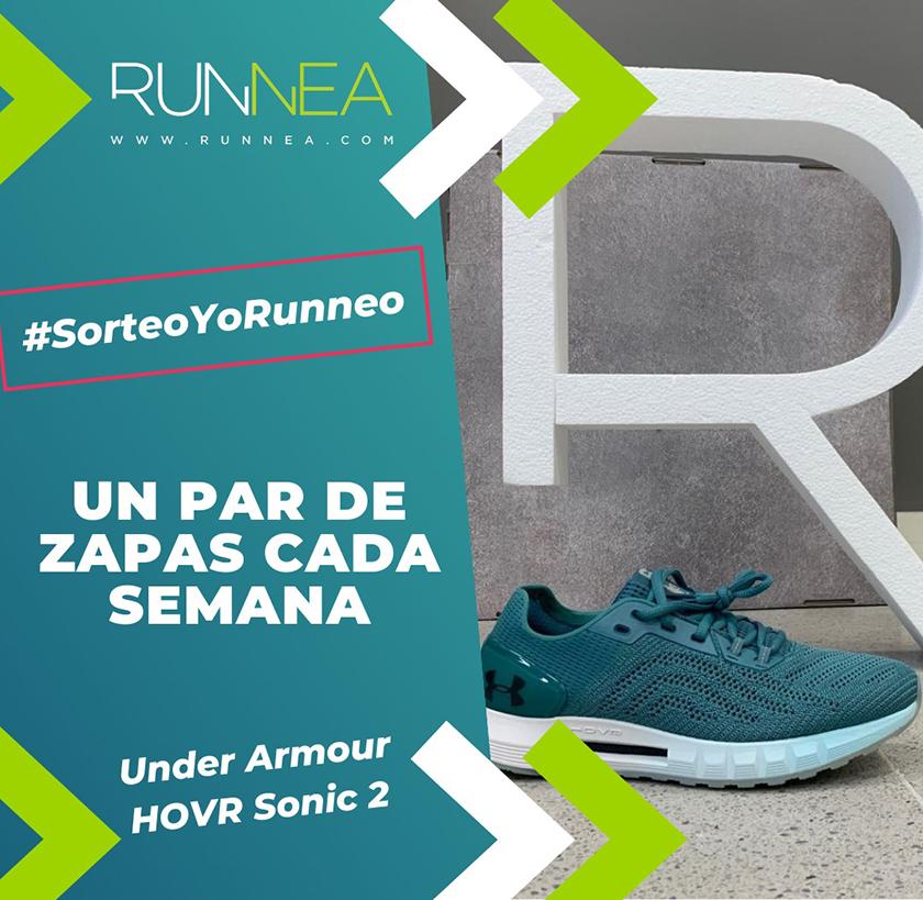 #SorteoYoRunneo, una zapatilla de running cada semana: Under Armour HOVR Sonic 2