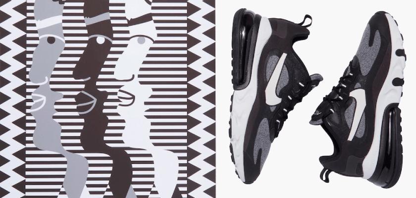 Movimientos artísticos que inspiran los nuevos colores de las Nike Air Max 270 React, Op Art