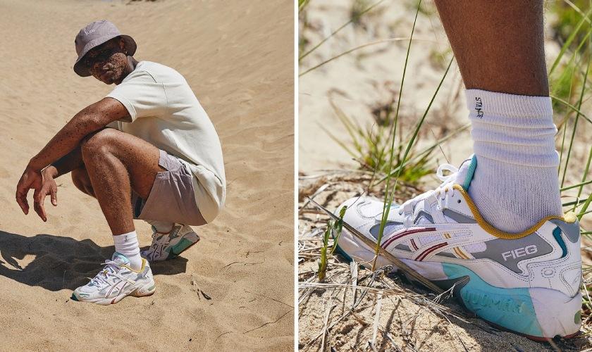Ronnie Fieg incluye esta sneaker en su colección Oasis