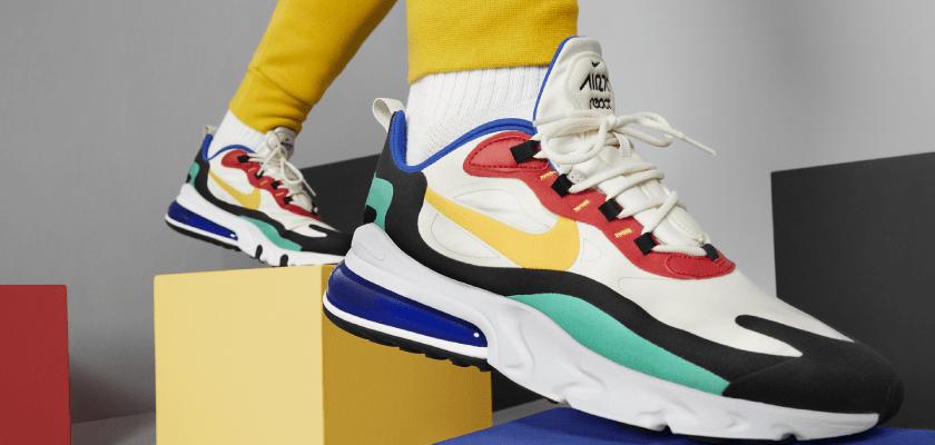 Nike Air Max 270 React, inspiración y arte