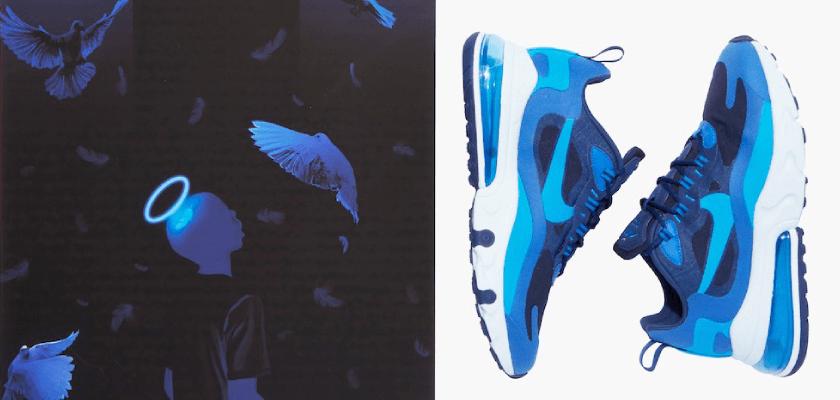 Movimientos artísticos que inspiran los nuevos colores de las Nike Air Max 270 React, Impresionismo