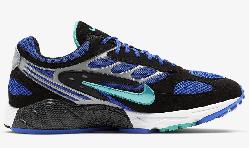 Nike Air Ghost Racer colores negro y azul
