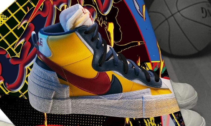 Nike x Sacai colaboración por partida doble