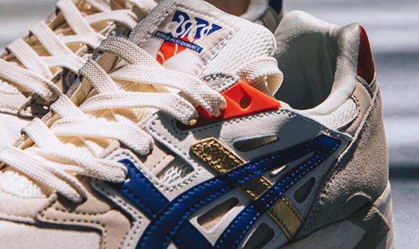 Sneaker con colores del deporte tailandés