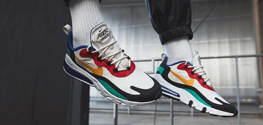 Nike Air Max 270 React, estilo