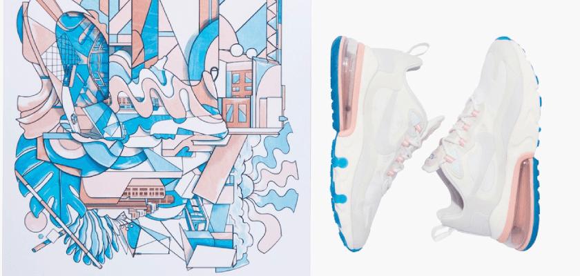 Movimientos artísticos que inspiran los nuevos colores de las Nike Air Max 270 React, Arte contemporáneo estadounidense