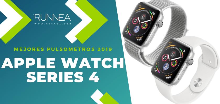 Mejores pulsometros GPS 2019 - Apple Watch Series 4