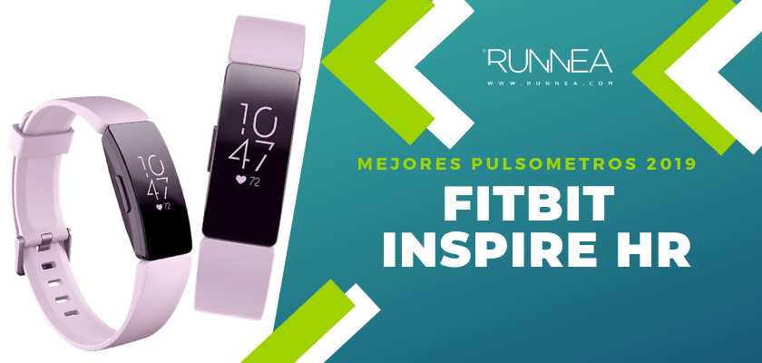 Mejores pulsometros GPS 2019 - Fitbit Inspire HR