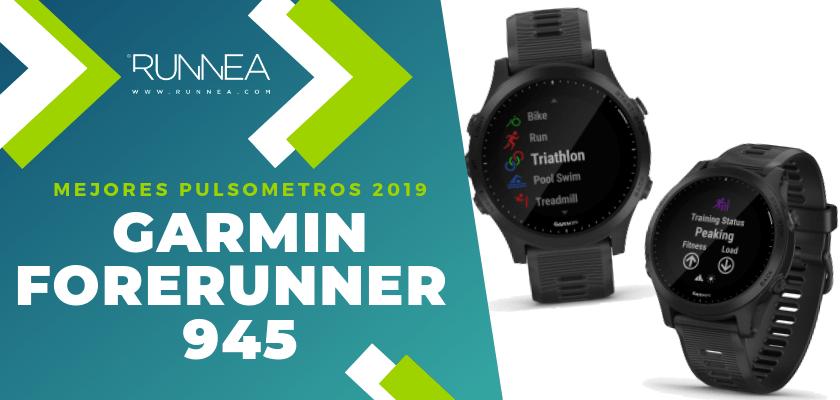 Mejores pulsómetros GPS 2019 - Garmin Forerunner 945