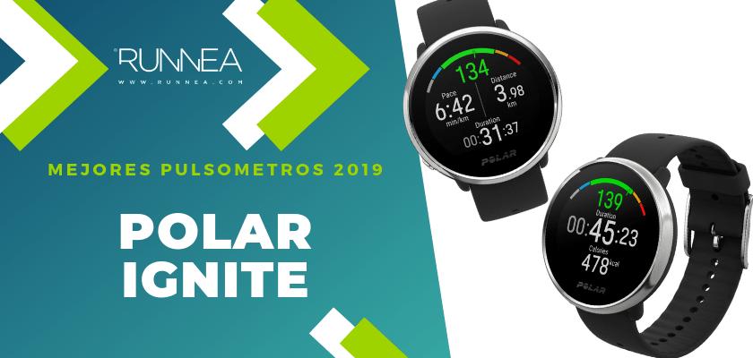 Mejores pulsómetros GPS 2019 - Polar Ignite