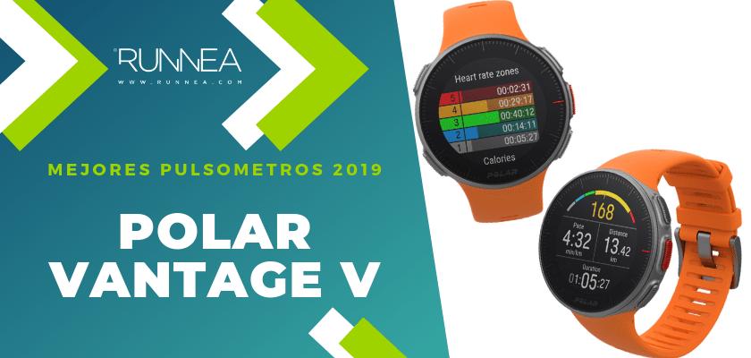 Mejores pulsómetros GPS 2019 - Polar Vantage V