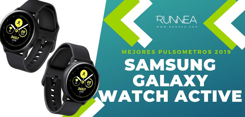 Mejores pulsometros GPS 2019 - Samsung Galaxy Watch Active