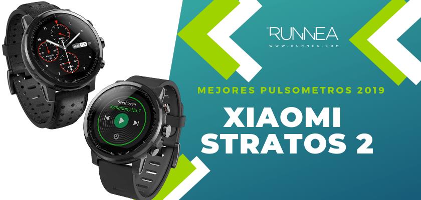 Mejores pulsometros GPS 2019 - Xiaomi Amazfit Stratos 2