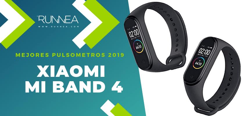 Mejores pulsometros GPS 2019 - Xiaomi Mi Band 4