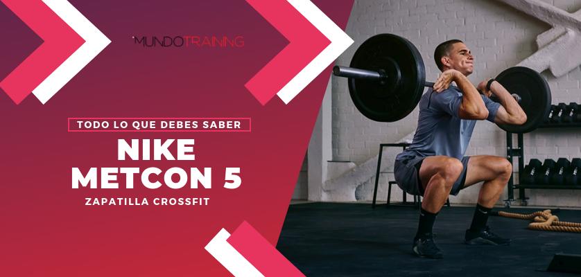 Así son las Nike Metcon 5, las zapatillas de CrossFit favoritas del hombre más fuerte del planeta, Mat Fraser