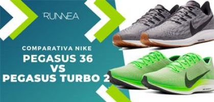 Nike Pegasus 36 vs Nike Pegasus Turbo 2 ¿En qué se diferencian y con cuál te quedas?