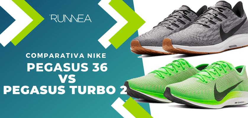Nike pegasus 36 vs Nike Pegasus Turbo 2: ¿Qué zapatilla de