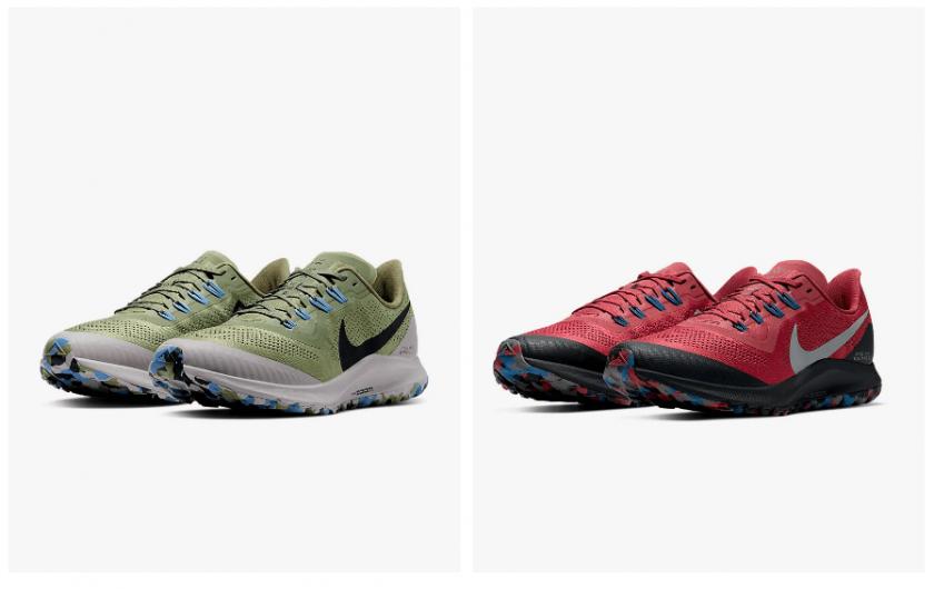 Las Nike Pegasus 36 Trail amplían su gama de colores disponibles - foto 1
