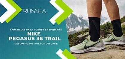 ¡Llegan los nuevos colores de las Nike Pegasus 36 Trail! ¿Cuál te vas a calzar?