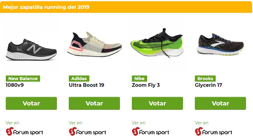 Premios Runnea 2019 by Forum Sport, categorías - foto 3